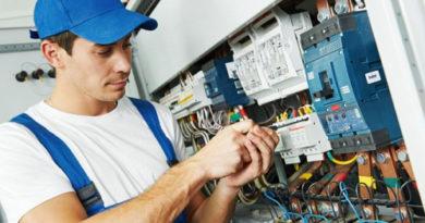 Перечень услуг предоставляемых электриком