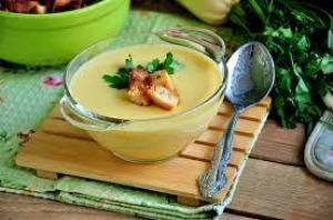 Охлажденный кабачковый суп