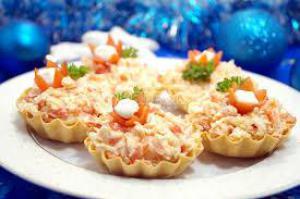 Тарталетки: ТОП-5 рецептов несладких начинок