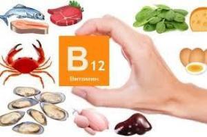 ТОП-5 продуктов с высоким содержанием витамина В12