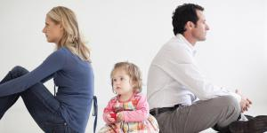 Развод с грудным ребенком до года